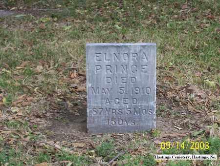 PRINCE, ELNORA - Adams County, Nebraska | ELNORA PRINCE - Nebraska Gravestone Photos