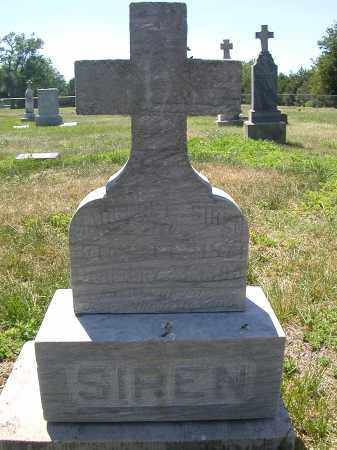 SIREN, MARGARET - Adams County, Nebraska   MARGARET SIREN - Nebraska Gravestone Photos