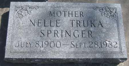 OGLESBY SPRINGER, NELLE - Adams County, Nebraska   NELLE OGLESBY SPRINGER - Nebraska Gravestone Photos