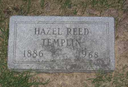 REED TEMPLIN, HAZEL ANNA - Adams County, Nebraska | HAZEL ANNA REED TEMPLIN - Nebraska Gravestone Photos