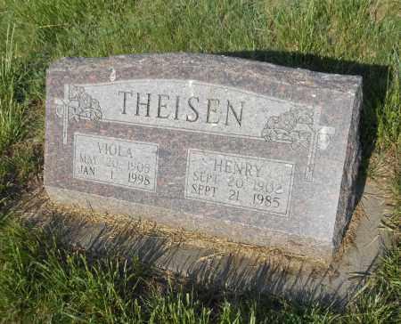 WEBER THEISEN, VIOLA L - Adams County, Nebraska | VIOLA L WEBER THEISEN - Nebraska Gravestone Photos