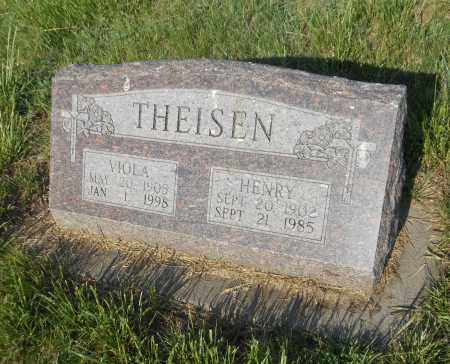 THEISEN, VIOLA L - Adams County, Nebraska | VIOLA L THEISEN - Nebraska Gravestone Photos