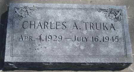 TRUKA, CHARLES A. - Adams County, Nebraska | CHARLES A. TRUKA - Nebraska Gravestone Photos