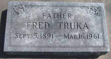 TRUKA, FRED - Adams County, Nebraska | FRED TRUKA - Nebraska Gravestone Photos