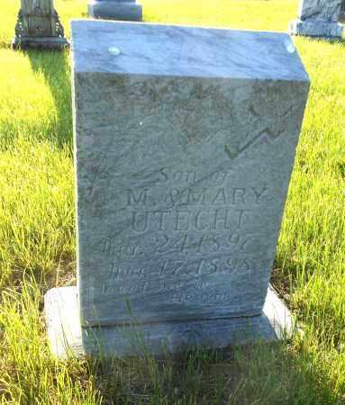 UTECHT, FRANK - Adams County, Nebraska | FRANK UTECHT - Nebraska Gravestone Photos