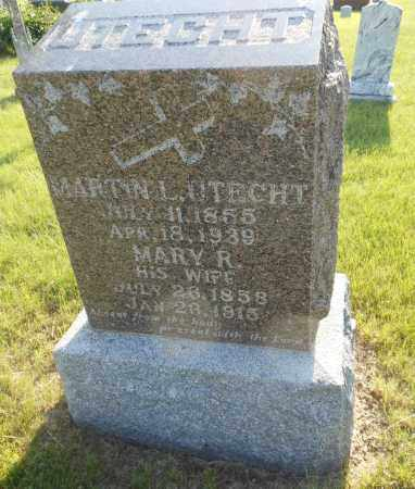 UTECHT, MARTIN L - Adams County, Nebraska | MARTIN L UTECHT - Nebraska Gravestone Photos