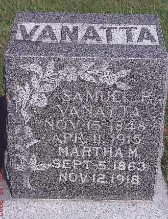 CONYERS VANATTA, MARTHA MATILDA - Adams County, Nebraska   MARTHA MATILDA CONYERS VANATTA - Nebraska Gravestone Photos