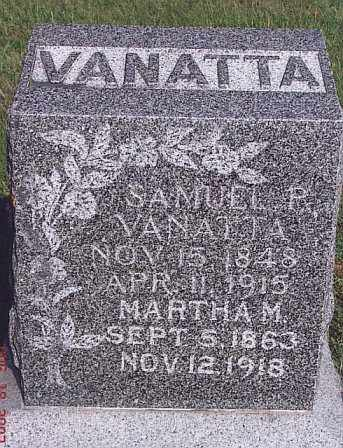 VANATTA, SAMUEL PRYOR - Adams County, Nebraska | SAMUEL PRYOR VANATTA - Nebraska Gravestone Photos