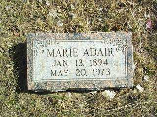 ADAIR, MARIE - Antelope County, Nebraska | MARIE ADAIR - Nebraska Gravestone Photos