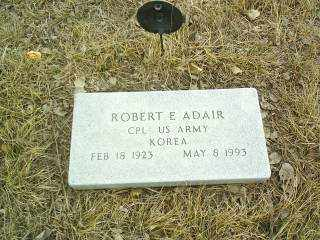 ADAIR, ROBERT - Antelope County, Nebraska | ROBERT ADAIR - Nebraska Gravestone Photos