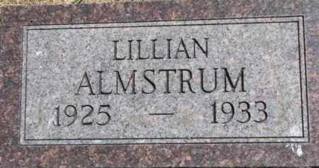 ALMSTRUM, LILLIAN - Antelope County, Nebraska   LILLIAN ALMSTRUM - Nebraska Gravestone Photos