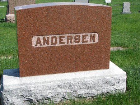 ANDERSEN, *FAMILY MONUMENT - Antelope County, Nebraska | *FAMILY MONUMENT ANDERSEN - Nebraska Gravestone Photos