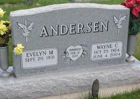 ANDERSEN, WAYNE C. - Antelope County, Nebraska   WAYNE C. ANDERSEN - Nebraska Gravestone Photos