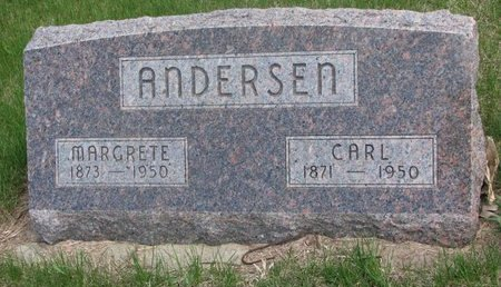 ANDERSEN, CARL - Antelope County, Nebraska   CARL ANDERSEN - Nebraska Gravestone Photos