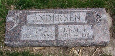 ANDERSEN, EINAR R. - Antelope County, Nebraska   EINAR R. ANDERSEN - Nebraska Gravestone Photos