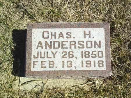ANDERSON, CHARLES H - Antelope County, Nebraska   CHARLES H ANDERSON - Nebraska Gravestone Photos