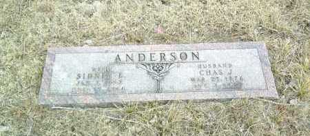 ANDERSON, SIDNEY - Antelope County, Nebraska | SIDNEY ANDERSON - Nebraska Gravestone Photos