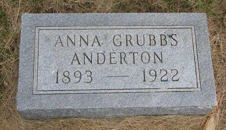 ANDERTON, ANNA - Antelope County, Nebraska | ANNA ANDERTON - Nebraska Gravestone Photos