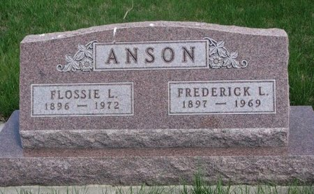 ANSON, FLOSSIE L. - Antelope County, Nebraska | FLOSSIE L. ANSON - Nebraska Gravestone Photos