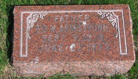 ARMSTRONG, EDWARD #2 - Antelope County, Nebraska   EDWARD #2 ARMSTRONG - Nebraska Gravestone Photos