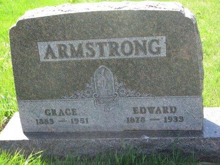 ARMSTRONG, EDWARD #1 - Antelope County, Nebraska | EDWARD #1 ARMSTRONG - Nebraska Gravestone Photos