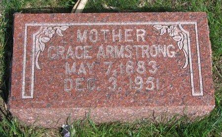 ARMSTRONG, GRACE #2 - Antelope County, Nebraska | GRACE #2 ARMSTRONG - Nebraska Gravestone Photos
