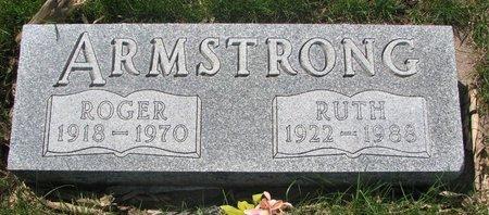 ARMSTRONG, RUTH - Antelope County, Nebraska | RUTH ARMSTRONG - Nebraska Gravestone Photos