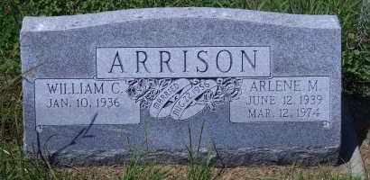 ARRISON, WILLIAM C - Antelope County, Nebraska | WILLIAM C ARRISON - Nebraska Gravestone Photos