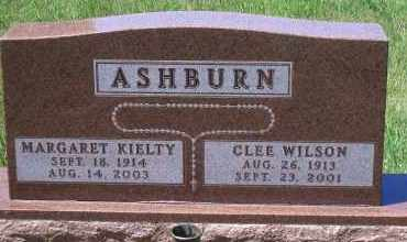ASHBURN, CLEE WILSON - Antelope County, Nebraska   CLEE WILSON ASHBURN - Nebraska Gravestone Photos