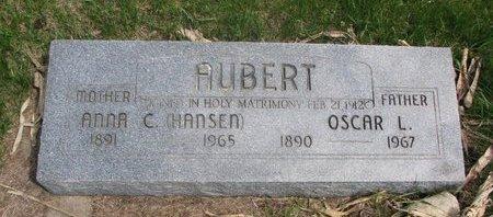 AUBERT, ANNA C. - Antelope County, Nebraska   ANNA C. AUBERT - Nebraska Gravestone Photos