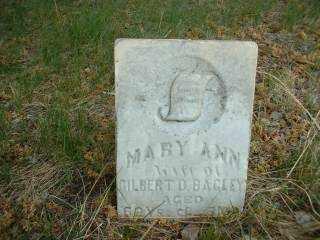 BAGLEY, MARYANN - Antelope County, Nebraska | MARYANN BAGLEY - Nebraska Gravestone Photos