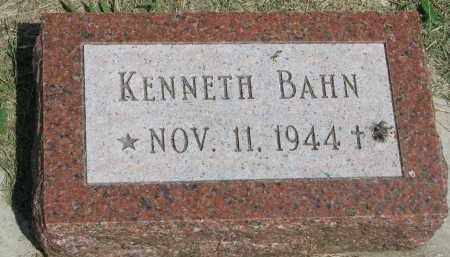 BAHN, KENNETH - Antelope County, Nebraska | KENNETH BAHN - Nebraska Gravestone Photos