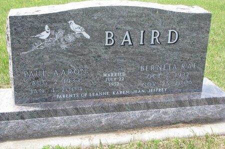 BAIRD, BERNETTA RAE - Antelope County, Nebraska | BERNETTA RAE BAIRD - Nebraska Gravestone Photos
