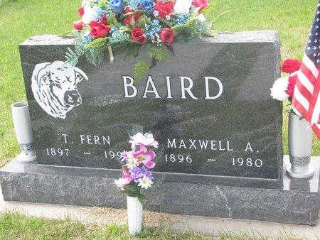 BAIRD, MAXWELL ABEL ABUHL - Antelope County, Nebraska | MAXWELL ABEL ABUHL BAIRD - Nebraska Gravestone Photos