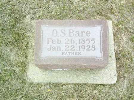 BARE, O.S. - Antelope County, Nebraska   O.S. BARE - Nebraska Gravestone Photos