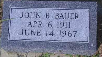 BAUER, JOHN B - Antelope County, Nebraska | JOHN B BAUER - Nebraska Gravestone Photos