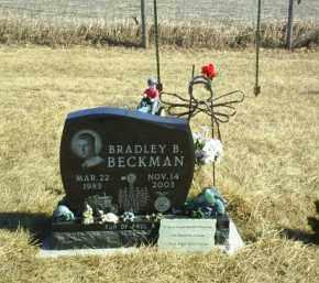 BECKMAN, BRADLEY B - Antelope County, Nebraska | BRADLEY B BECKMAN - Nebraska Gravestone Photos