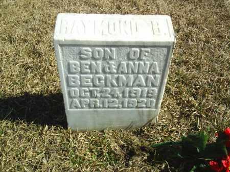 BECKMAN, INFANT SON - Antelope County, Nebraska | INFANT SON BECKMAN - Nebraska Gravestone Photos