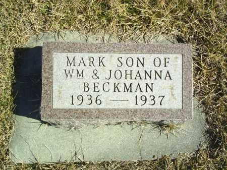 BECKMAN, MARK - Antelope County, Nebraska | MARK BECKMAN - Nebraska Gravestone Photos