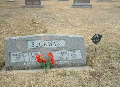 BECKMAN, DELBERT JOSEPH - Antelope County, Nebraska | DELBERT JOSEPH BECKMAN - Nebraska Gravestone Photos