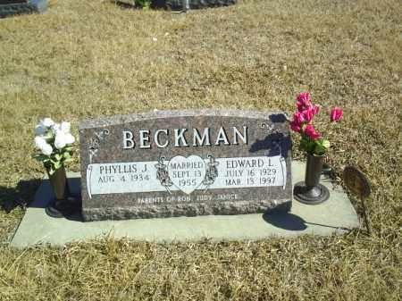 BECKMAN, PHYLLIS - Antelope County, Nebraska | PHYLLIS BECKMAN - Nebraska Gravestone Photos