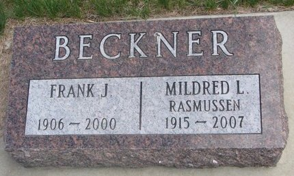 BECKNER, MILDRED L. - Antelope County, Nebraska | MILDRED L. BECKNER - Nebraska Gravestone Photos