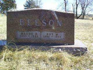 BEESON, ROY - Antelope County, Nebraska | ROY BEESON - Nebraska Gravestone Photos