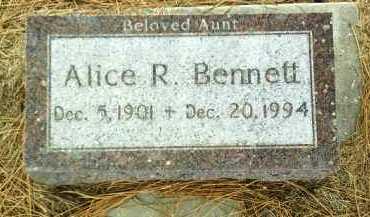 BENNETT, ALICE - Antelope County, Nebraska | ALICE BENNETT - Nebraska Gravestone Photos