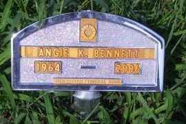 BENNETT, ANGIE K - Antelope County, Nebraska | ANGIE K BENNETT - Nebraska Gravestone Photos