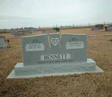 BENNETT, GLADYS - Antelope County, Nebraska   GLADYS BENNETT - Nebraska Gravestone Photos