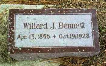 BENNETT, WILLARD - Antelope County, Nebraska   WILLARD BENNETT - Nebraska Gravestone Photos