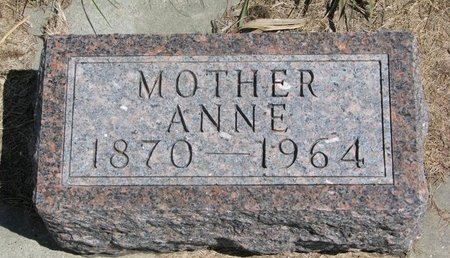 BERGH, ANNE - Antelope County, Nebraska | ANNE BERGH - Nebraska Gravestone Photos