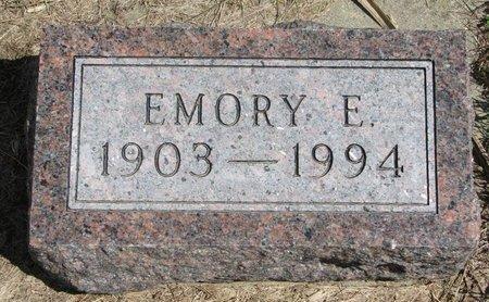 BERGH, EMORY E. - Antelope County, Nebraska | EMORY E. BERGH - Nebraska Gravestone Photos