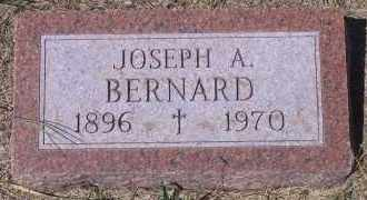BERNARD, JOSEPH A - Antelope County, Nebraska | JOSEPH A BERNARD - Nebraska Gravestone Photos